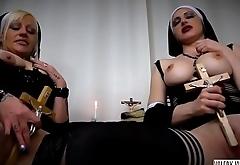 VALERY VITA IN '_'_LA SEXY SUORA DEL PORNO OLTRAGGIO VOL.5