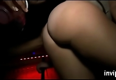 True vip party with horny babes riding monster dongs