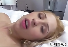 Captivating darling is experiencing a rapturous doggy position drilling