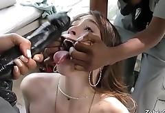Interracial lesbian PMV
