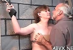 Teen yielding in extreme bondage xxx porn action