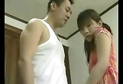 Japanese Real Father Fuck His Own Daughter -- Sexy Japanese Schoolgirl Fucked In Home