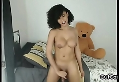 Sensuous Amateur Busty Shemale Slut
