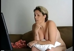 Mature webcam masturbate