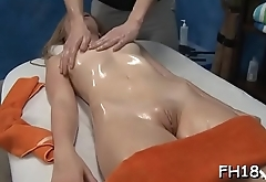 Hawt 18 girl gets drilled hard by her massage therapist