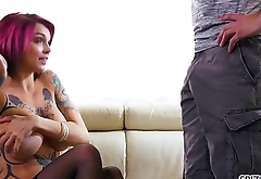 Spizoo - Anna Bell Peaks fuck her step brother, big booty &amp_ big boobs