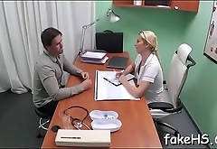 Wicked doctor craves respecting play some wicked games in fake hospital