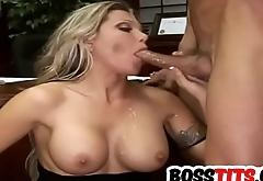 Pretty fair-haired boss Ana Nova gets Slammed