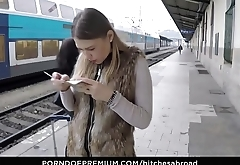 BITCHES ABROAD - Russian tourist Selvaggia gets drilled POV