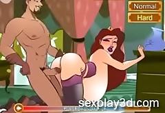 3D Hentai sex game Fucking put emphasize kingdom'_s slut queen