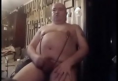 big nipples small cock old men