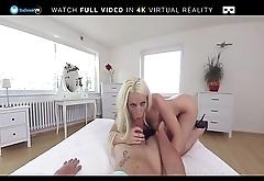BaDoink VR Blanche Bradburry Wants A Wild Ride In VR Porn