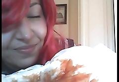 gran sfilata con i miei assorbenti pi&ugrave_ grossi