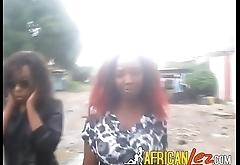 Amateur Kenyan lesbians eating pussy