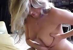 HOT Tow-headed Step Sis Plays Sex Roulette With BROTHERS