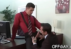 Office men love having anal sex jointly during intensive xxx