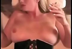 Hot Stepmom Smoking and Banging