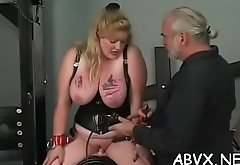 Naked chicks roughly playing in bondage xxx amateur clip