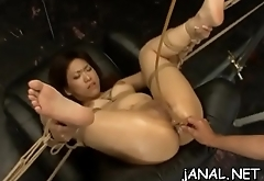 Nude asian cutie gets fellow to smash her ass in anal modes
