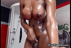 Romantic Amateur Busty Shemale Flirt