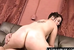 Mae White throat and pussy wrecked