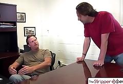 The StripperExperience - Karmen Karma suking 3 big dicks, big booty