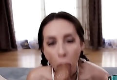 Cassidy Kleins Gets Throated Hard