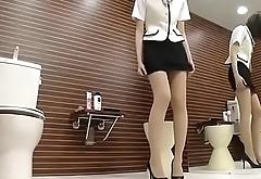 Japanese Girl Wears Pantyhose