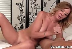 Slutty Mature Teasing Penis Until Cumshot