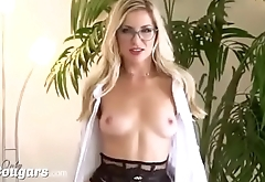 Amazing MILF Aline Has Her Ass Ripped Open By BBC