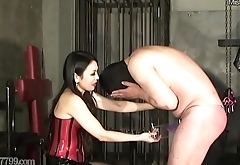 Japanese Femdom Humbler CBT with the addition of Humiliation