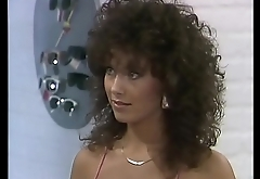 Busty beauty close by swim suit, from the Swedish TV show &quot_Solstollarna&quot_ (1985) no sound