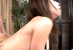 Mizuki Ogawa gets over sized cock to shag her furry holes  - More at 69avs com