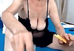 Ugly Grandma on webcam part 1 -  Signup at CAMGIRLZZ.COM for PART 2