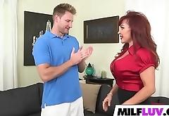 Racked Ginger MILF Vanessa Bella Gets Fucked