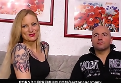 SEXTAPE GERMANY - Hardcore couple sex with deep penetrations