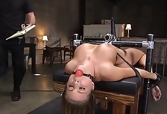 Tied slut slave is anally abused by a guy - Punishland.com