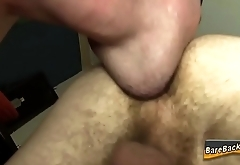 Rimmed amateur raw plowed
