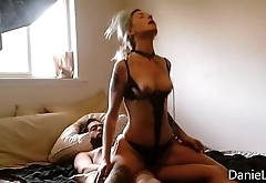 Reverse Cowgirl Girl on Top Rides Cock Hard Compilation