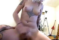 POV Blowjob and Girl on Top Riding Cock Hard