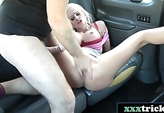 Finnish Blonde Bimbo Ass Fucked By British Gent - Cindy Sun