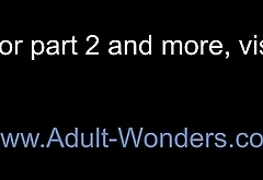 Adult-Wonders.com sexy redhead in stockings has feet fucked and pussy pounded Part 1 720p