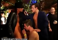 Twinks and boys orgy party