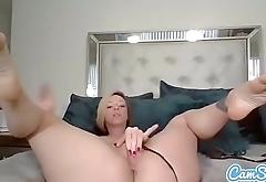 Sexy model Jada Stevens masturbates while inserting a butt plug