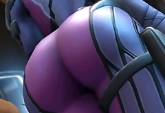Widowmaker Ass Spank [PT BR]