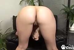 Big Booty Cougar Ava Rose Masturbating With Her Dildo